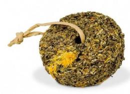 Gardums grauzējiem – JR Farm Grainless Herbs Wheel Danddelion-Marigold, 140 g