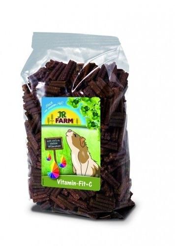Papildbarība grauzējiem - JR FARM Vitamin-fit +C, 300 g
