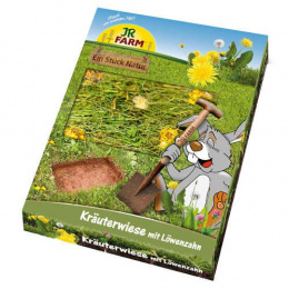 Papildbarība grauzējiem - JR FARM Herb-Meadow with Dandelion, 750 g.