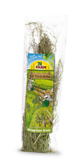 Gardums grauzējiem - JR Farm Wild Grass Harvest 80g
