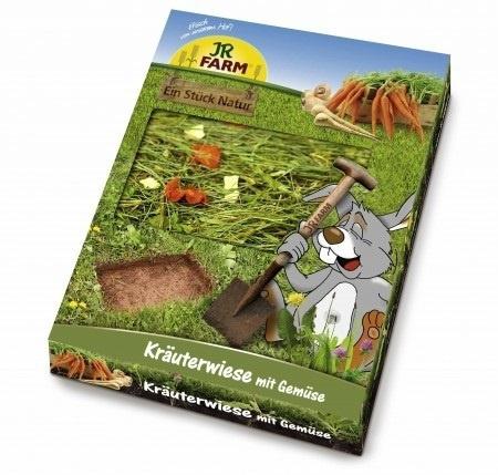Лакомство для грызунов - JR FARM Herb-Meadow with Vegetables, 750 г.