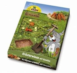 Papildbarība grauzējiem - JR FARM Herb-Meadow with Vegetables, 750 g.