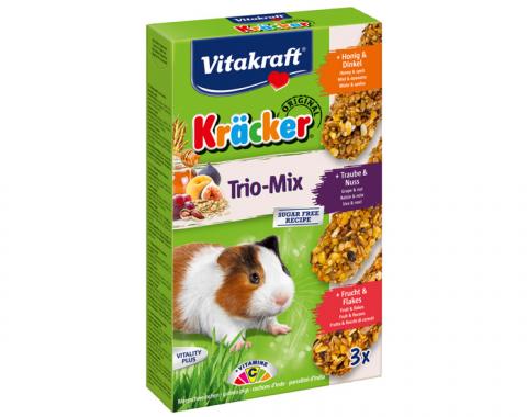 Лакомство для морских свинок - Kracker*3 for GuineaPig (honey+fruit+nuts)