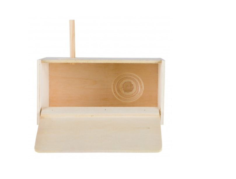 Аксессуар для корелл - Trixie деревянное гнездо, 30 * 20 * 20 cм