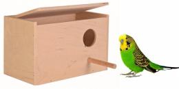 Аксессуар для птиц - Trixie Деревянное гнездо для волнистых попугайчиков