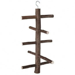 Koka trepītes putnu būrim - Trixie, Wooden Round Ladders, 25 cm