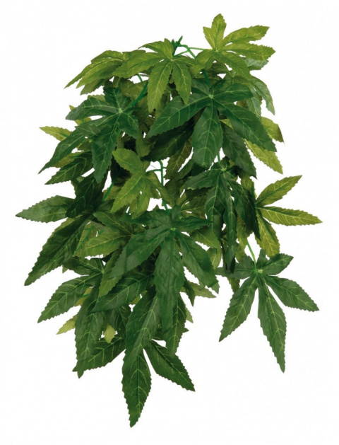 Dekors terārijam - TRIXIE Silk hanging plant, Abutilon, 20*50 cm