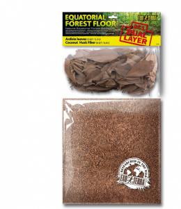 Pakaiši terārijam - Exo Terra ardisias lapas un kokosriekstu čaulas šķiedras, 4,4 L
