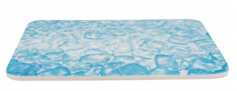 Atvēsinošs paklājs grauzējiem - Trixie Cooling plate for rabbits and guinea pigs, 28*20 cm, blue