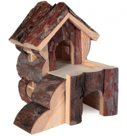 Māja grauzējiem - TRIXIE Natural Living Bjork house, 20x19x21cm
