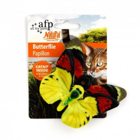 Rotaļlieta kaķiem - AFP Natural Butterflies Double Pack
