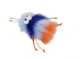 Игрушка для кошек – AFP Furry Ball Fluffer, blue