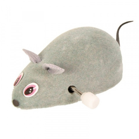 Игрушка для кошек - Trixie Wind Up Felt Mouse, 7 см