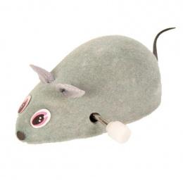 Rotaļlieta kaķiem - Trixie Wind Up Felt Mouse, 7 cm