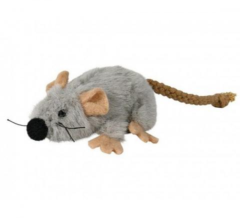 Rotaļlieta kaķiem - Trixie Mouse Plush, 7 cm