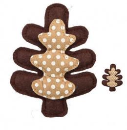 Игрушка для кошек - Trixie Рождественская игрушка - елочка, 11 cм