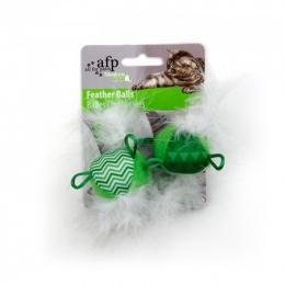 Rotaļlieta kaķiem - Modern Cat Feather Balls with sound