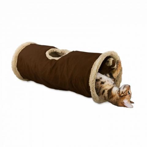 Tunelis kaķiem - AFP Lambswool Find Me Cat Tunnel