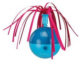 Игрушка для кошек - Trixie  вращающийся шар с пучком из ленточек