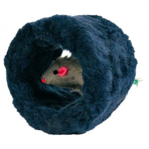Игрушка для кошек - Trixie Play Roll, Plush, 8 cm title=