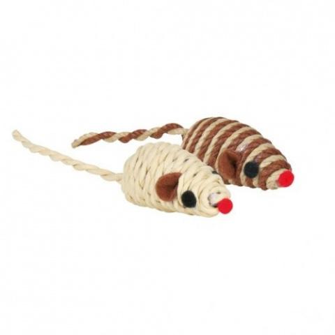 Rotaļlieta kaķiem - Trixie Mice, 5 cm title=