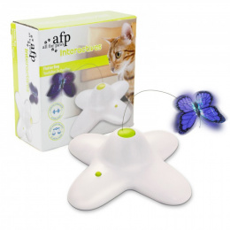 Игрушка для кошек-  Interactive Flutter Bug