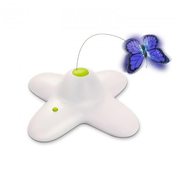 Rotaļlieta kaķiem - Interactive Flutter Bug