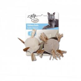 Rotaļlieta kaķiem - Classic Comfort Ribbon Balls (2pack)