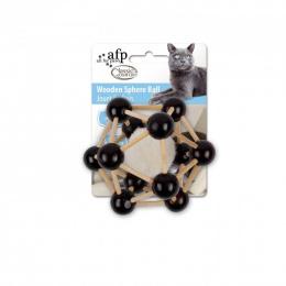 Rotaļlieta kaķiem - Classic Comfort Wooden Sphere Ball