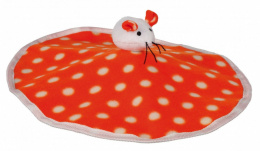 Игрушка для кошек - Trixie игрушка для кошек /  флис, с шуршащей плёнкой, 32 x 28 см