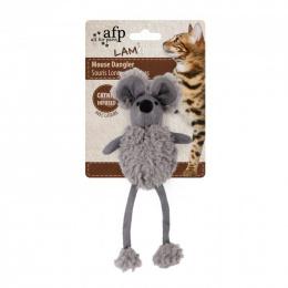 Игрушка для кошек- AFP Lambswool Mouse Dangler