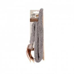 Игрушка для кошек – AFP Lambswool Cuddle Tail Wand