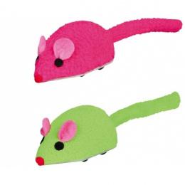Rotaļlieta kaķiem - Trixie Wind Up Speedy-Mouse, 7 cm