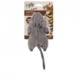 Rotaļlieta kaķiem - AFP Lambswool Jumbo Crinkle Catnip Rodent