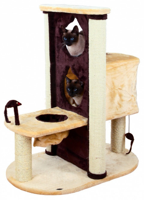 """Mājiņa kaķiem - """"Amelia"""" Scratching Post, bēša krāsa/brūna, 93cm"""