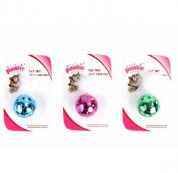 Rotaļlieta kaķiem - Pawise metallic ball