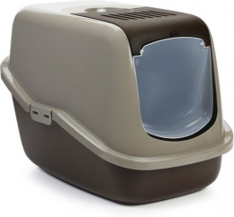 Туалет для кошек -  Savic Nestor, warm grey - chocolate brown, 56*39*41 cm