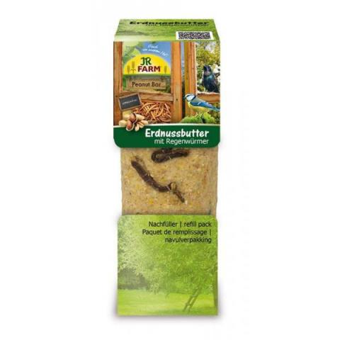 Корм для уличных птиц - JR FARM PBar peanut butter earthworms, 350 г