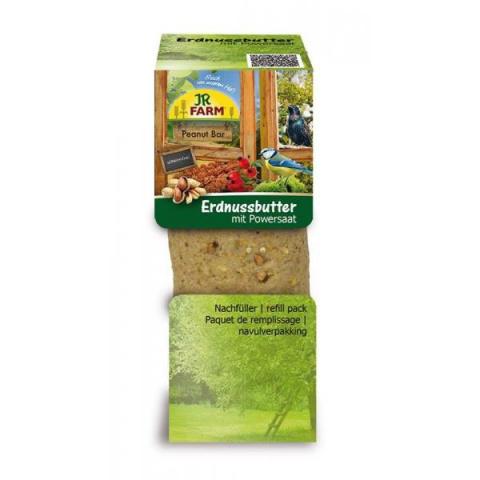 Barība āra putniem - JR FARM Garden PBar peanut butter power seeds, 350 g