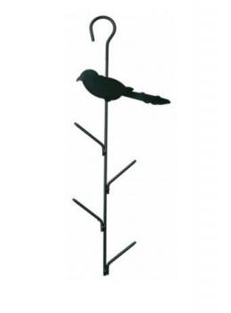 Barotava āra putniem - Trixie Fat Ball Feeder, 9*40 cm, tumši zaļa