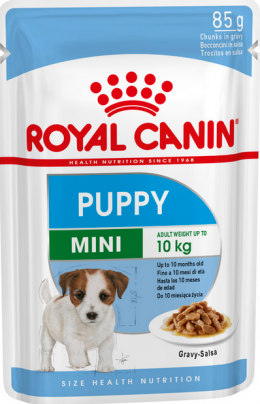 Konservi kucēniem - Royal Canin SHN Mini Puppy, 85 g