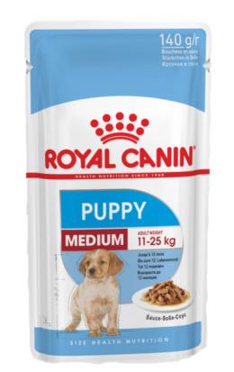 Консервы для щенков  - Royal Canin SHN Medium Puppy 140 г