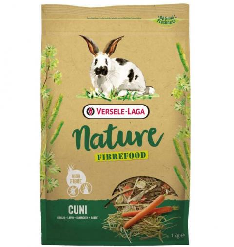 Корм для кроликов - Prestige Nature Fibrefood Cuni, 1 кг title=