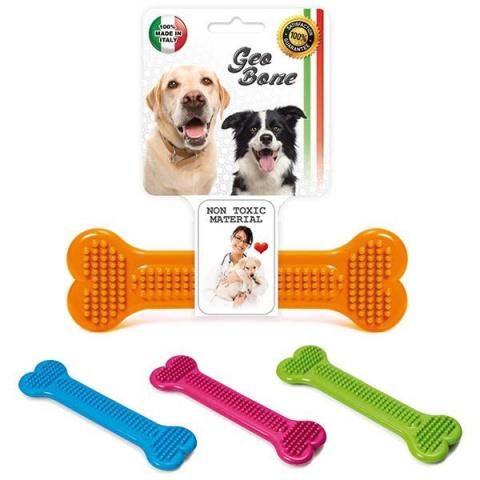 Rotaļlieta suņiem - Avesa Geo Bone, 10*3 cm title=