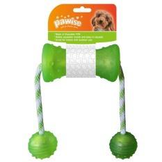 Игрушка для собак - Pawise play&chew Dumbbell, 48*7 см