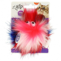 Игрушка для кошек – AFP Furry Ball Fluffy Ball, pink