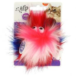 Rotaļlieta kaķiem - All for Paws Furry Ball Fluffy Ball, pink