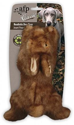 Игрушка для собак - AFP Brown Rabbit, 19*9*5.5 cm