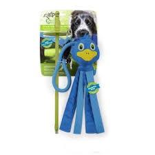 Игрушка для собак  - AFP Elastic Tug Blue Mallard