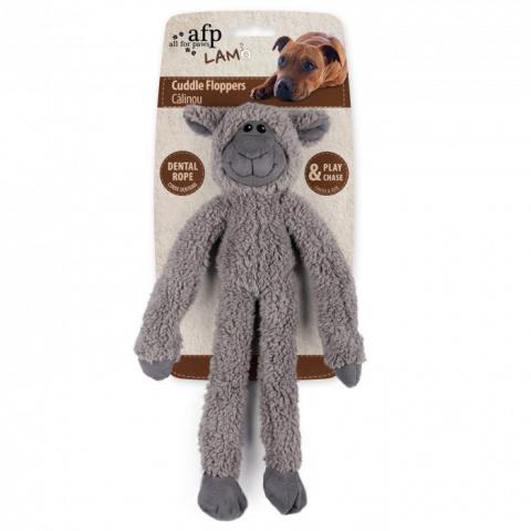 Игрушка для собак – AFP Lambswool Cuddle Ropey Floppers title=
